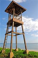海灘救生塔 景區救援塔