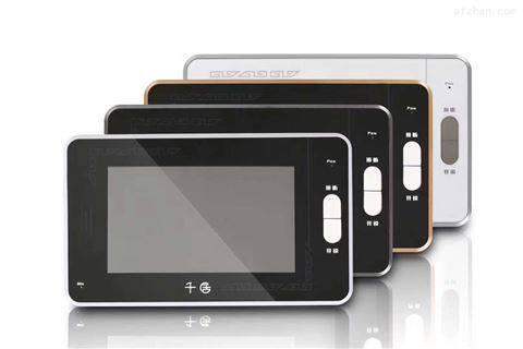 带指纹功能的可视对讲无线连接IC卡开锁广