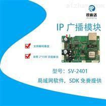 高速路廣播IP廣播音頻芯片組SV-2401