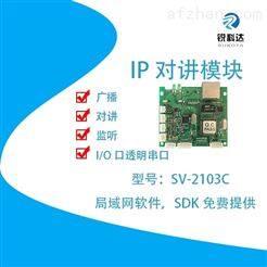 SV-2103C煤矿调度IP语音对讲广播模块一键求助对讲
