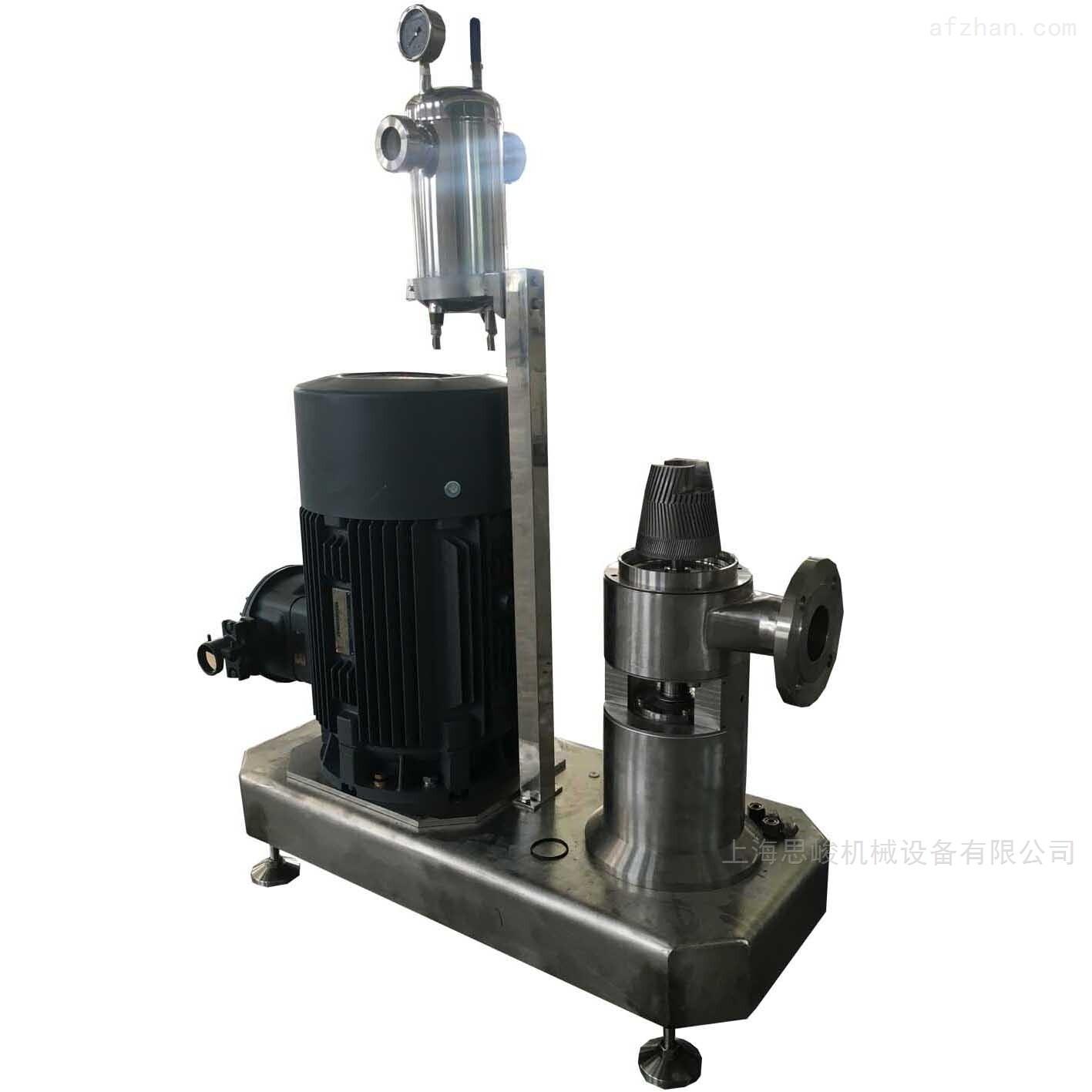 水性苯丙乳液管线式纳米高速乳化机
