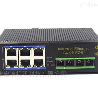HBQW260-SFP工业级2光6电管理型百兆交换机