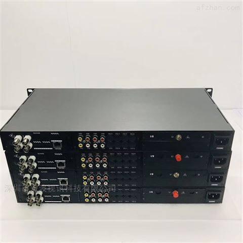 养殖场监控4路视频1路网络4路音频光端机