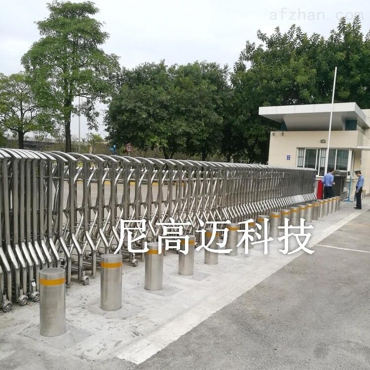 阻车器电动升降式、液压升降车挡护柱