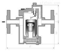 进口铸钢倒筒式疏水阀683