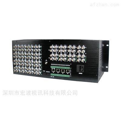 大型养殖场监控用同轴高清16路视频光端机