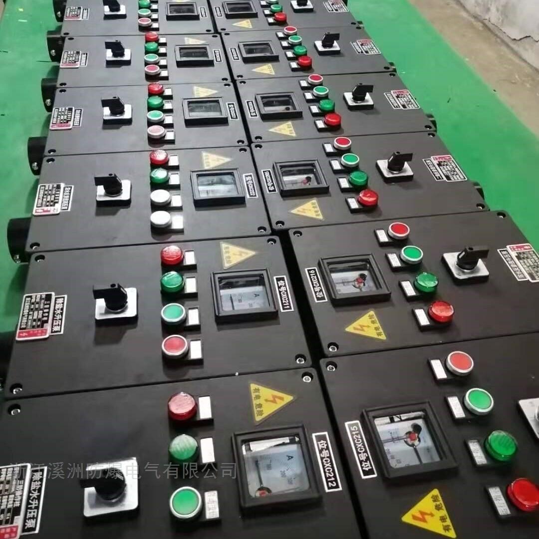 三防配电箱操作柱两灯两钮一转换带电流表