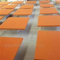 600*600岩棉防火玻纤吸音板可视表面多彩表面毡贴面