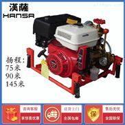 带轮子移动3寸柴油机消防泵