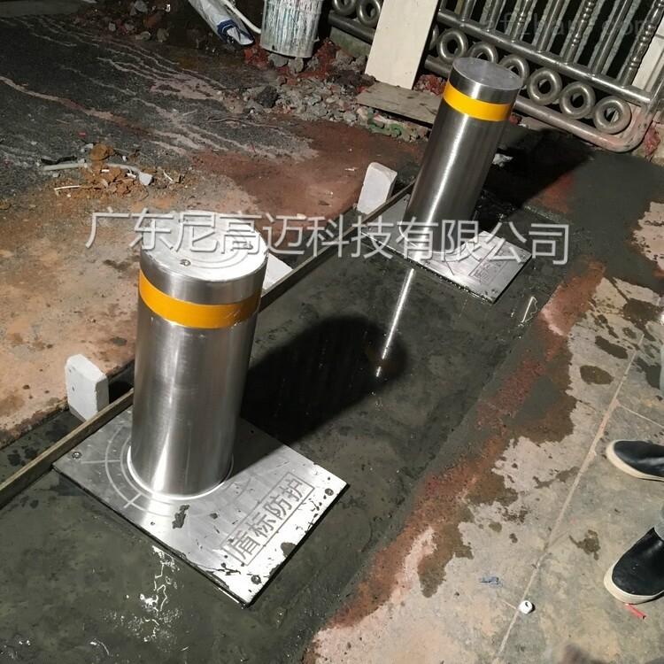 电动液压一体型升降柱,高中校门防撞止车桩