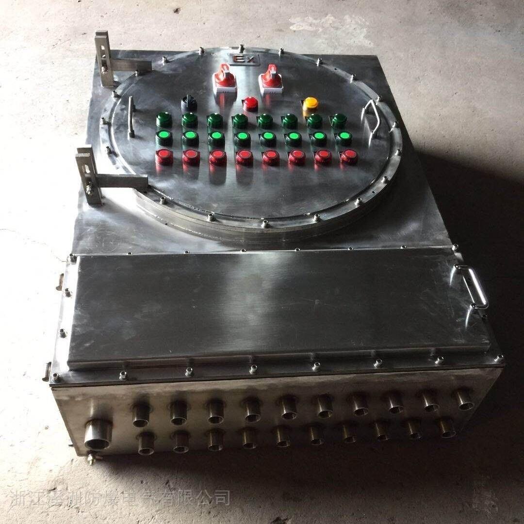 洗煤厂防爆配电箱IIC级不锈钢