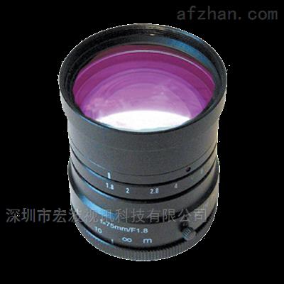 进口原装1英寸版面 定焦镜头50mm