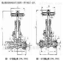 船用外螺紋鍛鋼30公斤壓力手動型日標截止閥