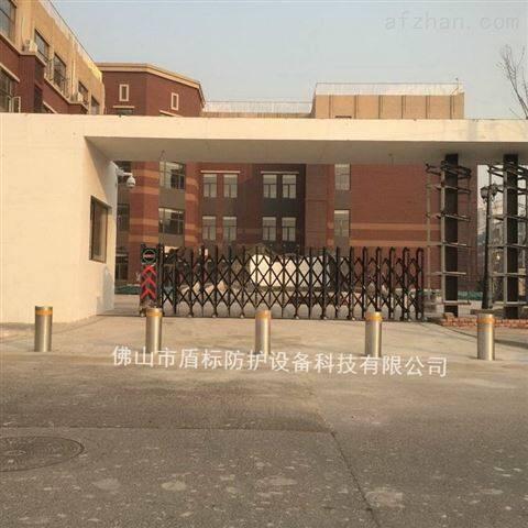 东莞中学门外手提移动拆卸型固定柱