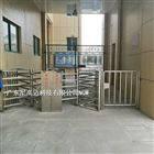 客运车站不锈钢梳状单向出口门