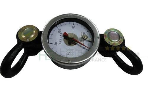 火车专用机械拉力计,用于火车牵引力的机械式拉力计价格