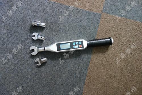螺栓数显测量扭矩扳手图片(可配开口头)