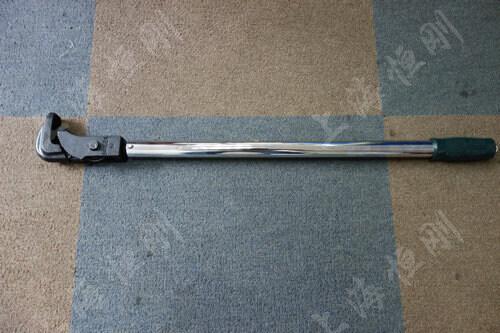手动预置式扭力扳手  可换管钳头
