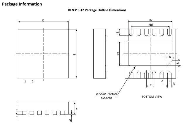 CW3042封装尺寸图