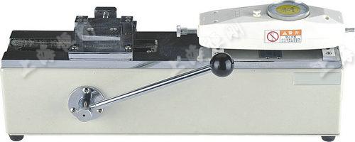 汽车端子拉力测试机图片  可配置表盘推拉力计